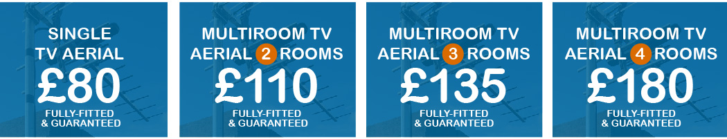 TV Aerials Fitted From Just £75
